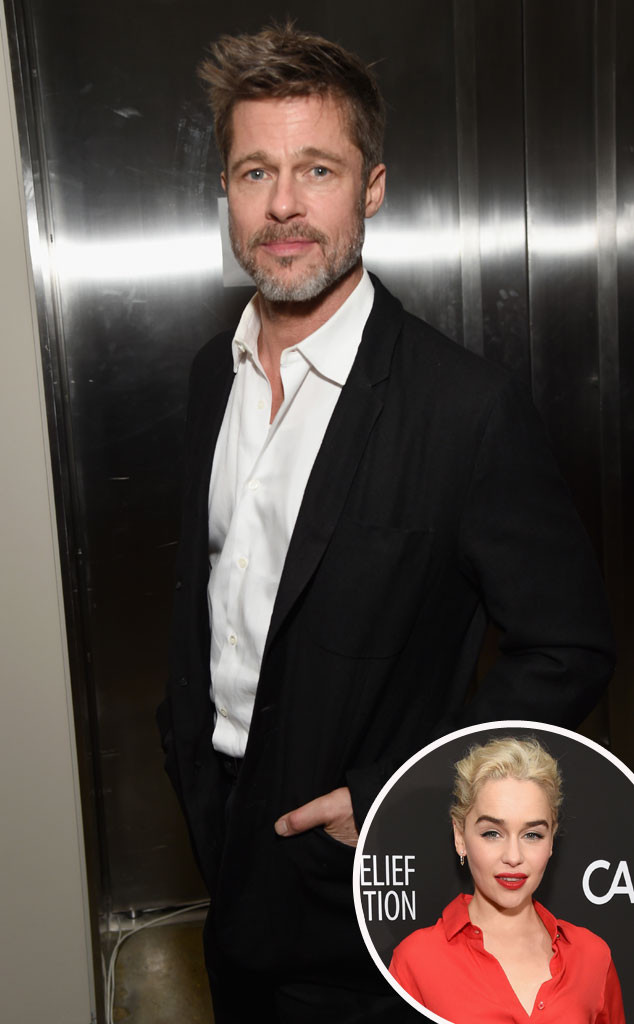 Brad Pitt, Emilia Clarke