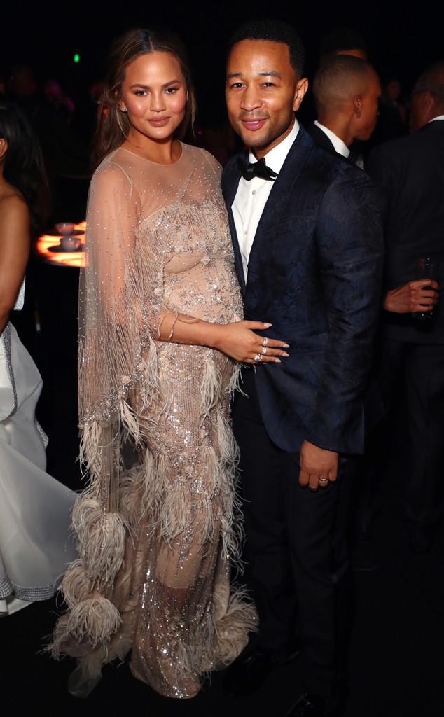 Chrissy Teigen, John Legend, Party Pics