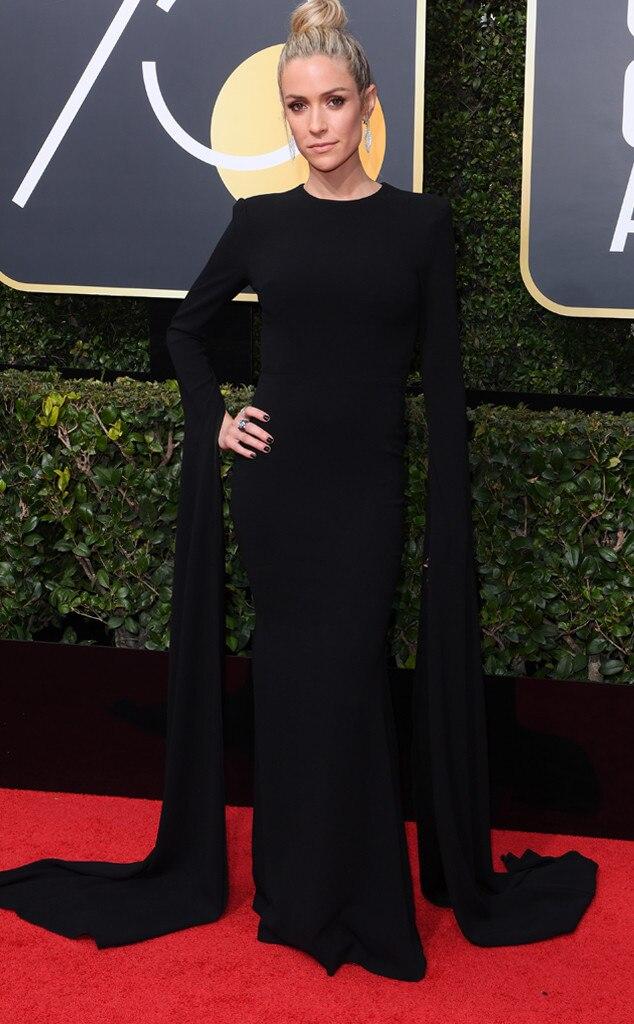 kristin cavallari from 2018 golden globes red carpet
