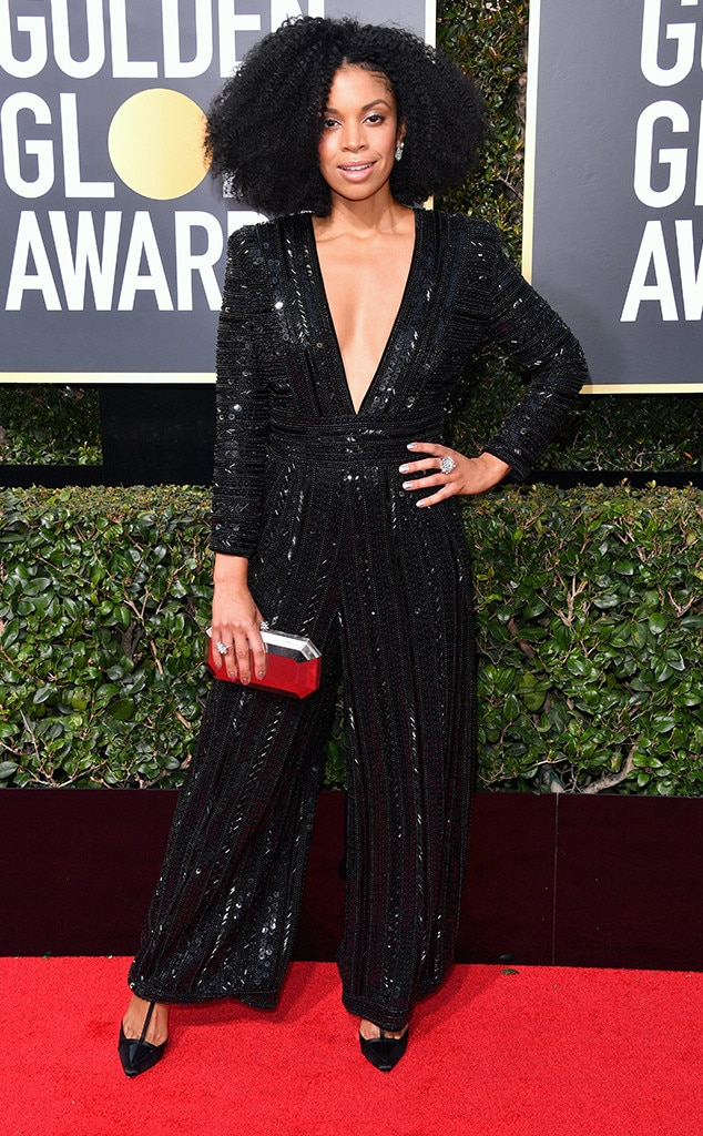 2018 Golden Globes Red Carpet Fashion Susan Kelechi Watson, 2018 Golden Globes, Red Carpet Fashions