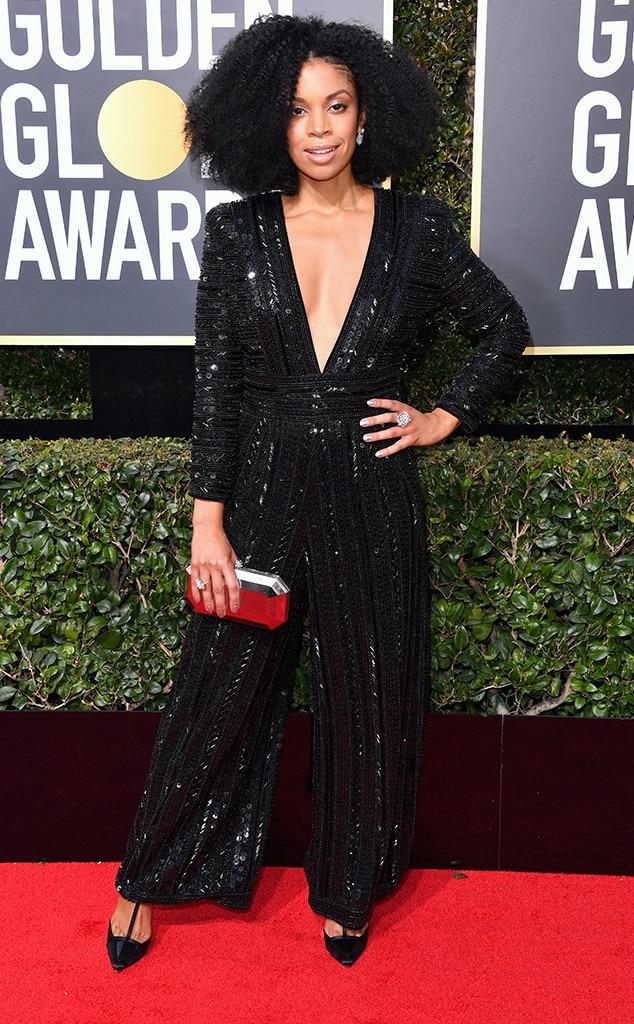 2018 Golden Globes Red Carpet Fashion Susan Kelechi Watson, 2018 Golden Globes, Red Carpet Fashions