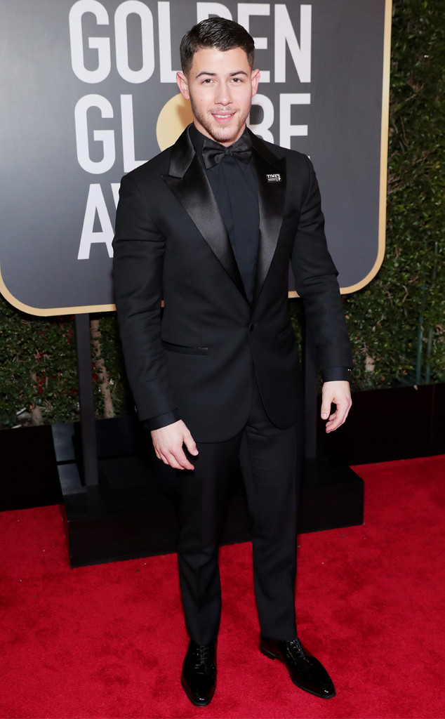 Nick Jonas, 2018 Golden Globes