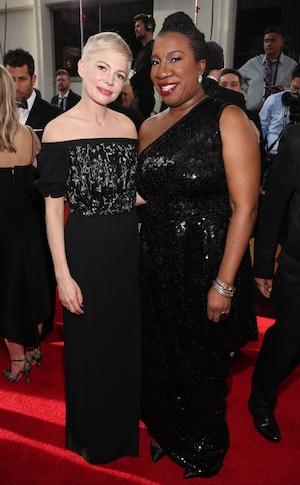 Michelle Williams, Tarana Burke, 2018 Golden Globes