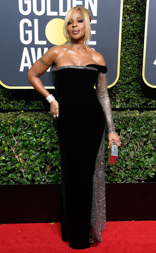 Mary J. Blige, 2018 Golden Globes