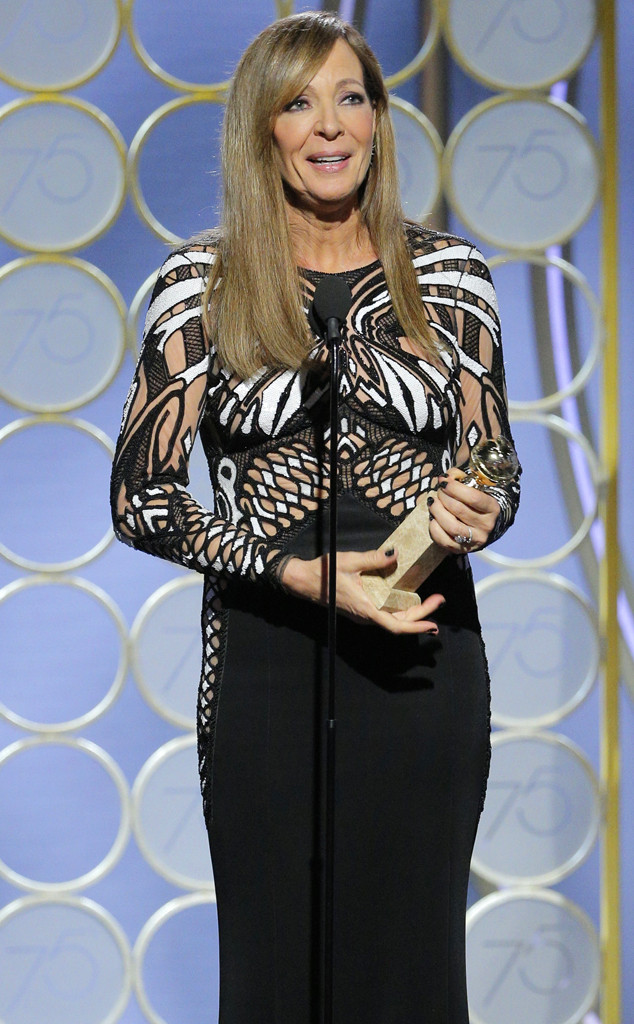 Allison Janney, 2018 Golden Globes, Winners