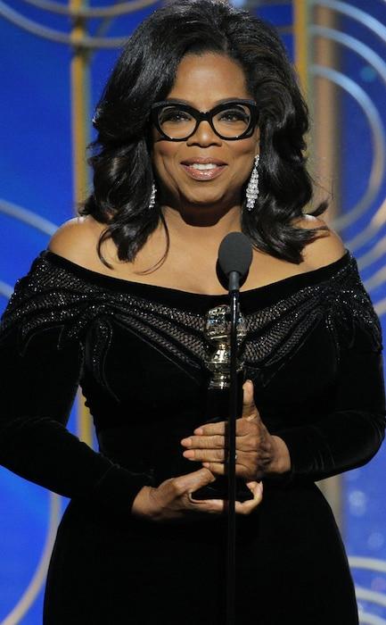 Oprah Winfrey, 2018 Golden Globes, Winners