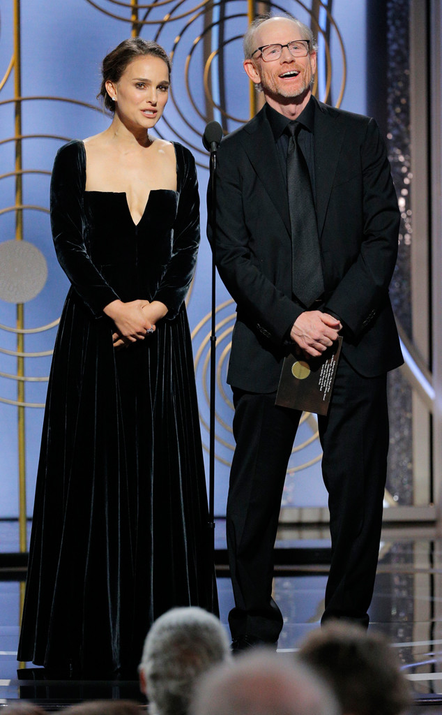 Natalie Portman, 2018 Golden Globes
