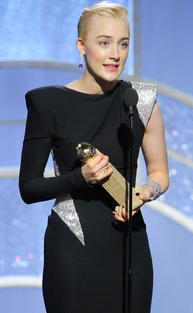 Image result for saoirse ronan golden globes