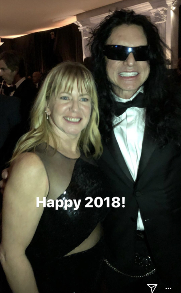 Tonya Harding, Tommy Wisseau, 2018 Golden Globes