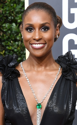 ESC: Golden Globes 2018, Accessories, Issa Rae