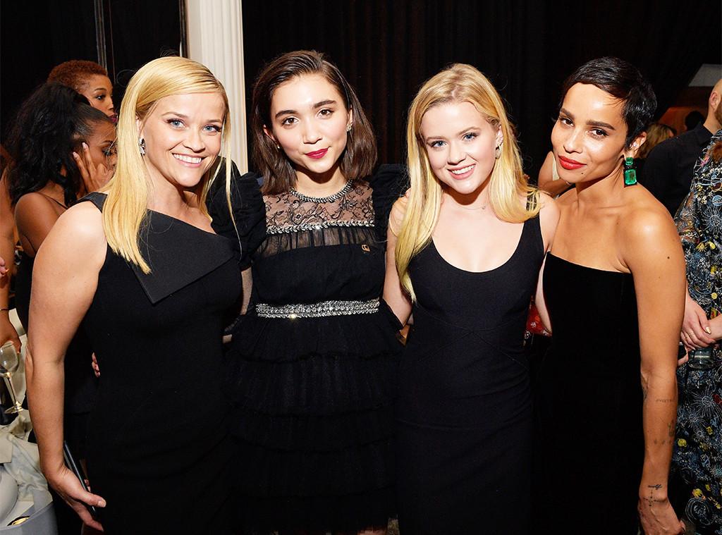 Reese Witherspoon, Rowan Blanchard, Ava Phillippe, Zoe Kravitz