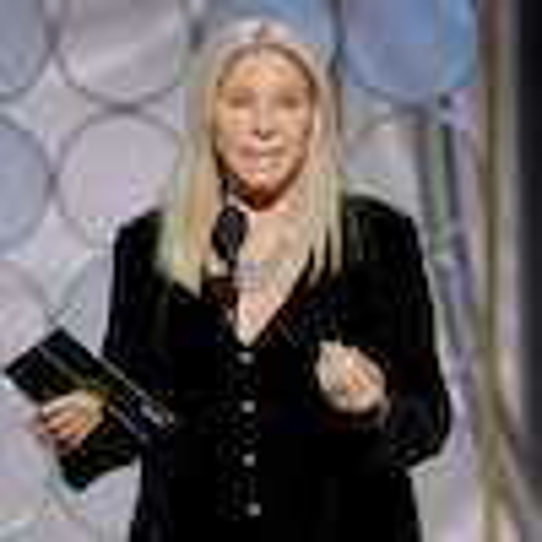 Barbara Streisand, 2018 Golden Globes