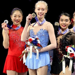 Mirai Nagasu, Bradie Tennell, Karen Chen, figure skating