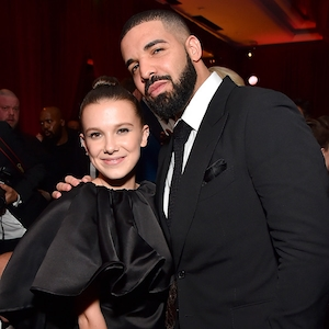 Millie Bobby Brown, Drake, 2018 Golden Globes, Party Pics