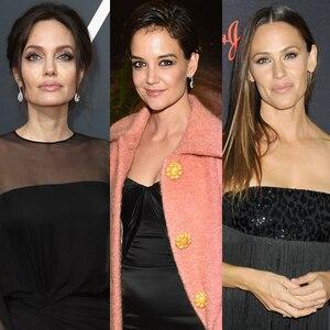Angelina Jolie, Katie Holmes, Jennifer Garner, Anna Faris