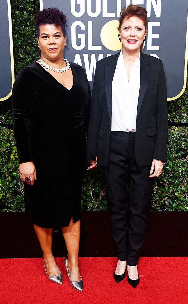 Susan Sarandon, Rosa Clemente, 2018 Golden Globes