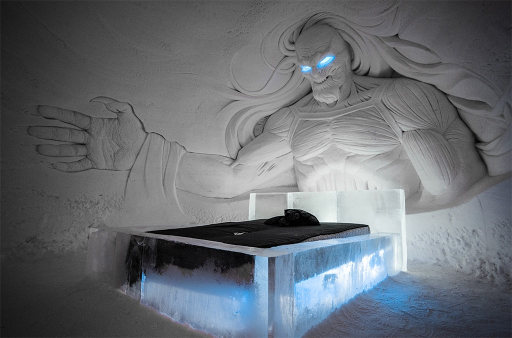 Visit the Game of Thrones Ice Hotel Before it Melts Away