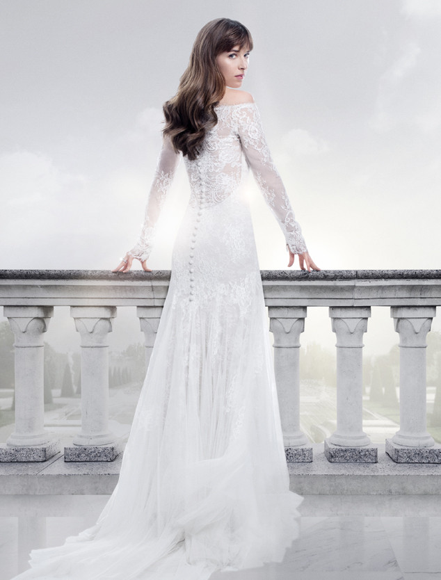 ESC: Movie Wedding Gowns, Fifty Shades, Dakota Johnson