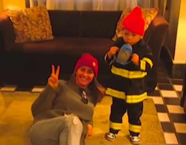 Seth Meyers' Wife Recreates Their Son's Dramatic Birth on Halloween