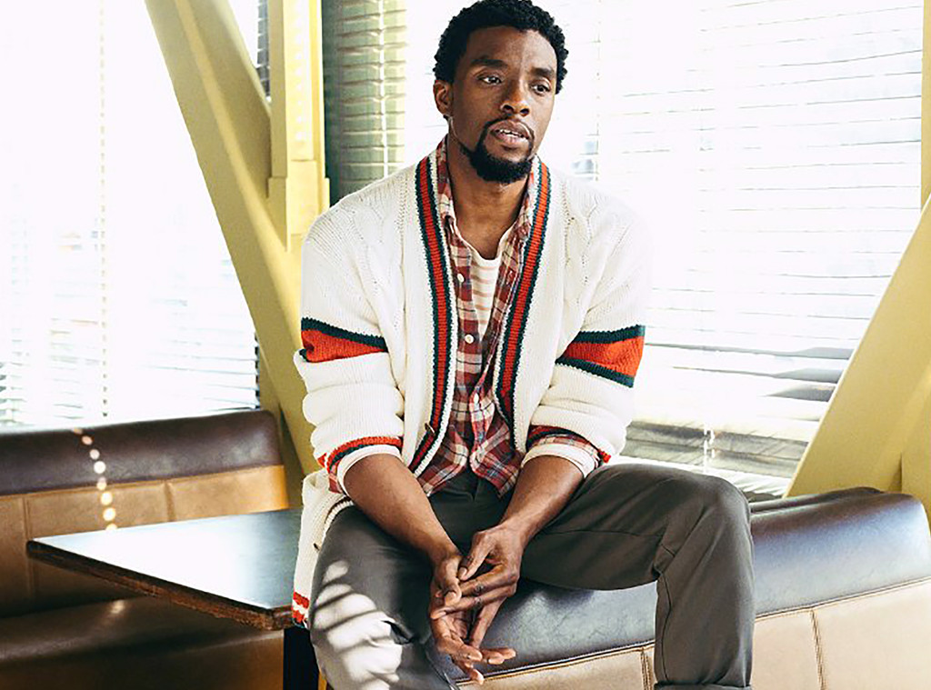 Black Panther 39 S Chadwick Boseman Recalls His Experiences With Racism E News