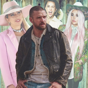 Justin Timberlake, Country Music, Kesha, Lady Gaga, Miley Cyrus