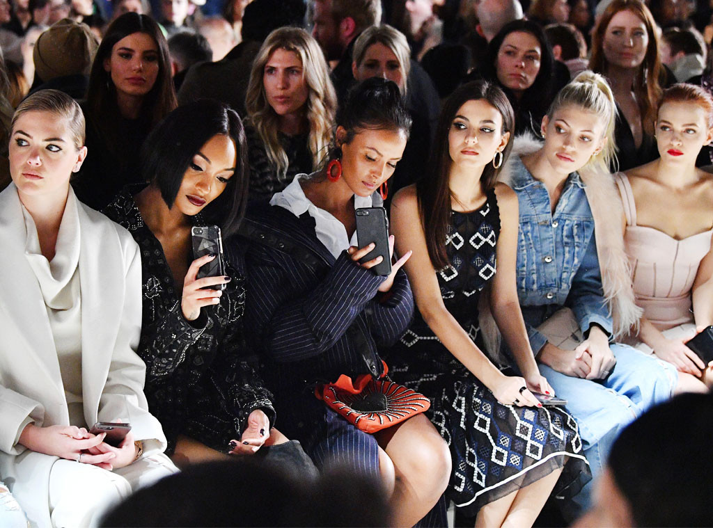 ESC: NYFW Front Row, Kate Upton, Jourdan Dunn, Maya Jama, Victoria Justice and Devon Windsor