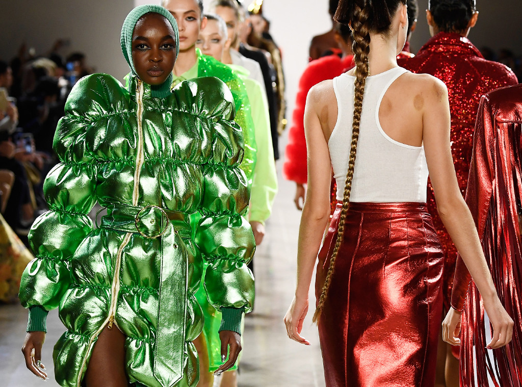 The Craziest Looks At New York Fashion Week Fall Winter 2018 E News