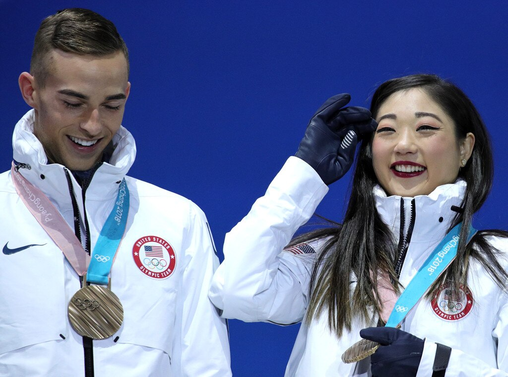 A medalist now too, Adam Rippon embraces role at Olympics