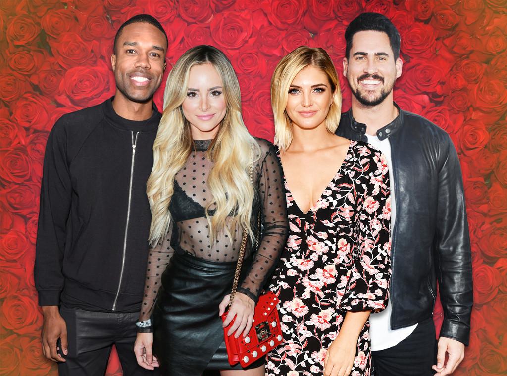 Bachelor Nation Dating Profiles, DeMario Jackson,  Amanda Stanton, Olivia Caridi, Josh Murray