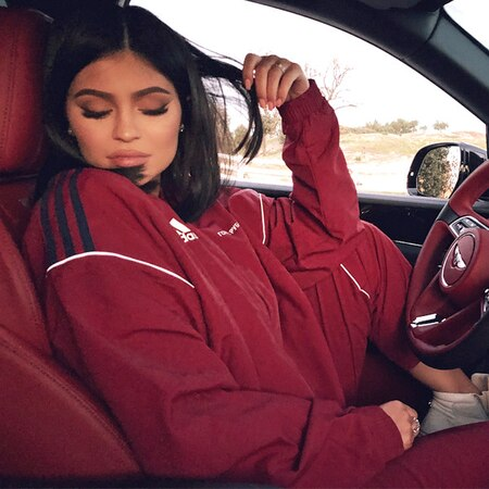 rs 600x600 180212190312 600.kylie jenner car instagram.ct.021218 - Kylie Jenner Is Officially Back on Instagram With a Sultry Snapshot