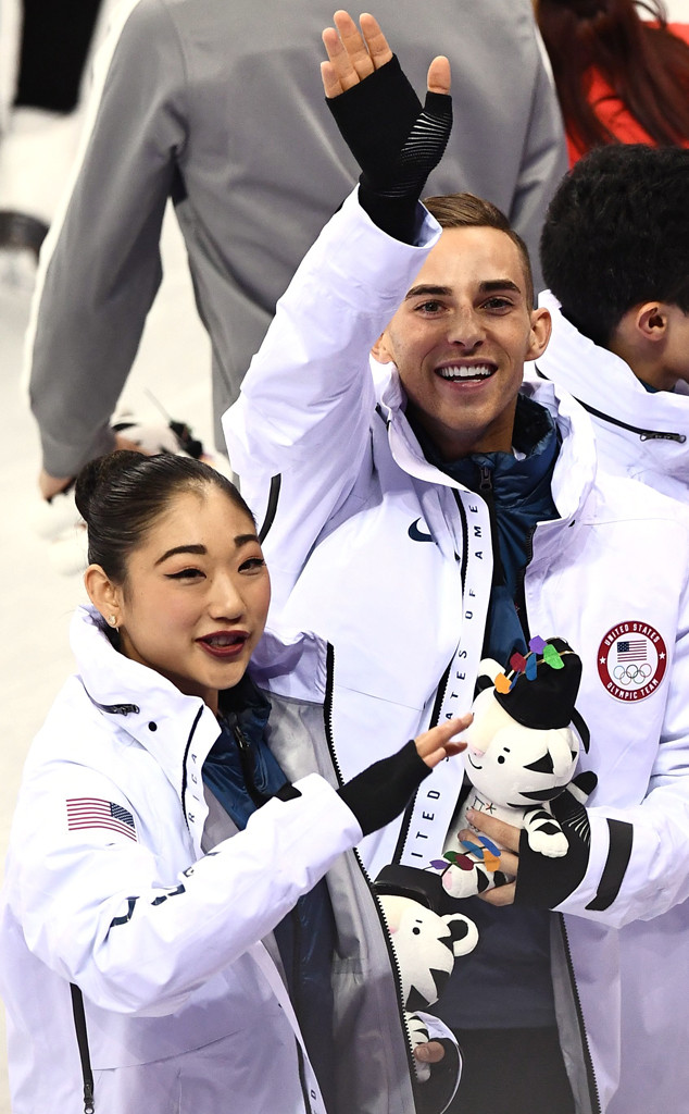 Adam Rippon, Mirai Nagasu, 2018 Winter Olympics
