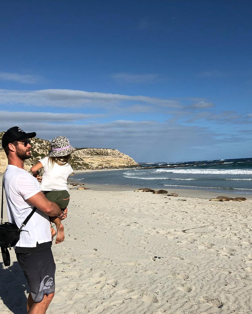 Chris Hemsworth, Kangaroo Island