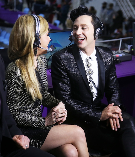 Tara Lipinski, Johnny Weir, 2018 Winter Olympics