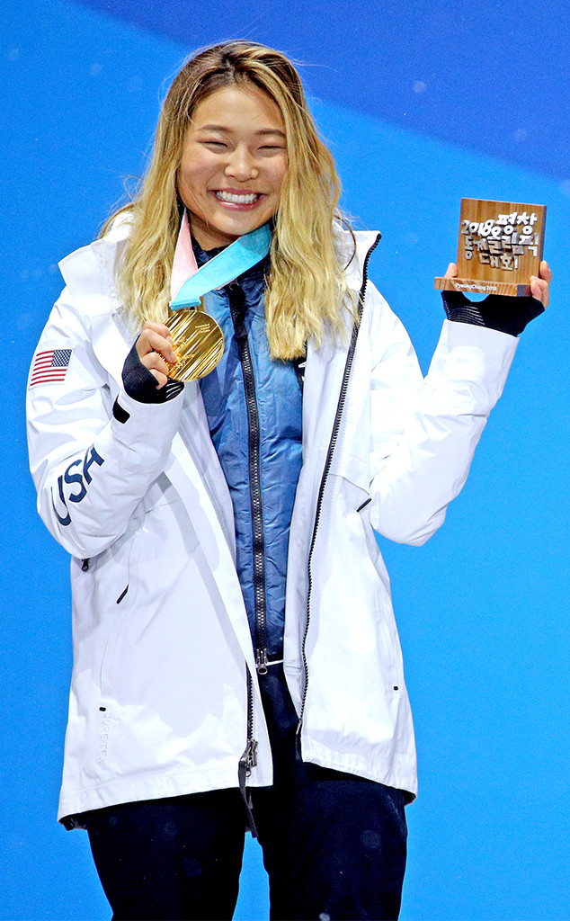 Chloe Kim, Gold Medal, 2018 Winter Olympics