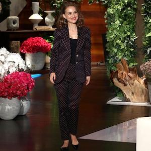 Natalie Portman, Ellen DeGeneres