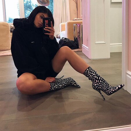 rs 600x600 180214113423 600 kylie jenner valentine s day instagram 021418 - Kylie Jenner Celebrates First Valentine's Day as a Mother: Inside Her New Life With Child Stormi