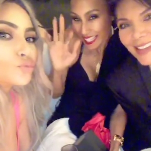 Kris Jenner, Kim Kardashian, Khloe Kardashian, Valentine's Day