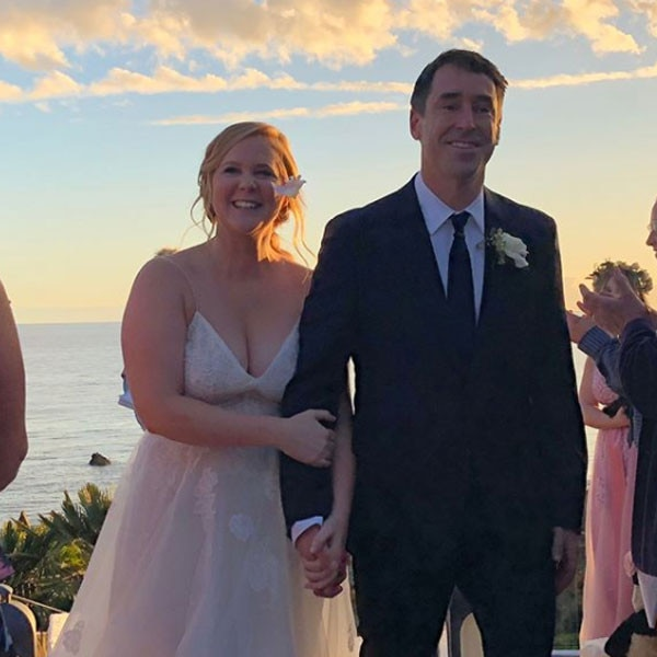 Amy Schumer shares intimate video of Malibu wedding