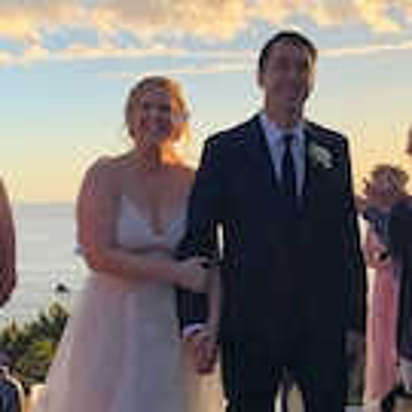 Les photos de mariage d'Amy Schumer et Chris Fischer