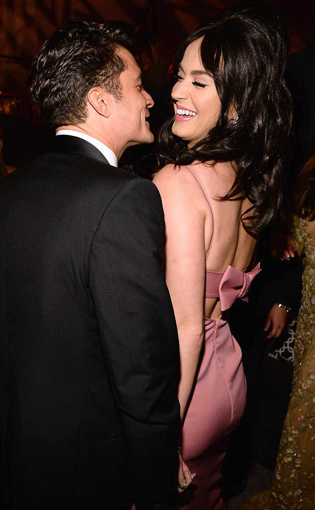 Katy Perry, Orlando Bloom, Golden Globe After Party
