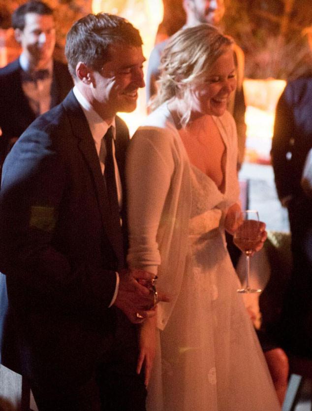 boda amy schumer vestido de novia