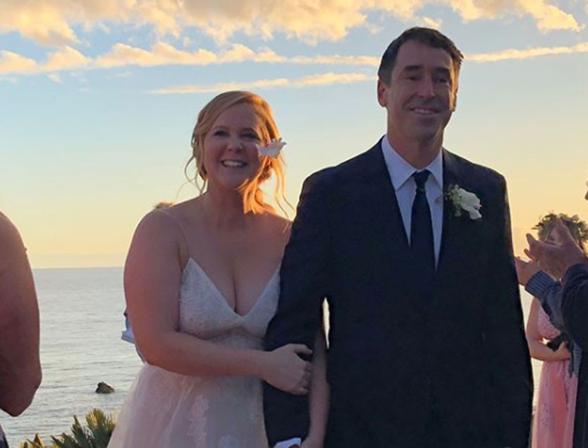 Newlywed Amy Schumer not changing her name