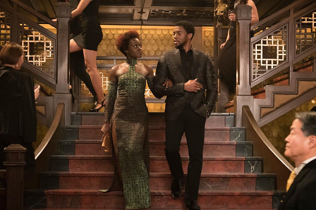 Black Panther, Lupita Nyong'o, Chadwick Boseman