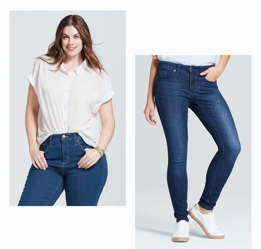 4 ways to style your jeans and t shirt like a girl on the for Jeans t shirt style