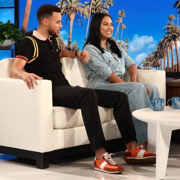 67c7a113abe9 Ellen DeGeneres Tries to Figure Out the Sex of Stephen Curry and Ayesha  Curry s Third Baby