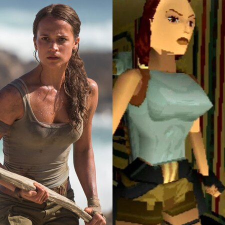 Alicia Vikander Jokes Her Breasts Not As Pointy As