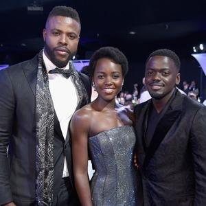 Winston Duke, Lupita Nyong'o, Daniel Kaluuya
