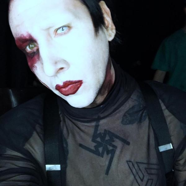 Marilyn Manson, Instagram