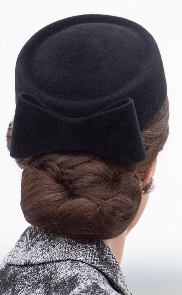 Kate Middleton, Hair Net