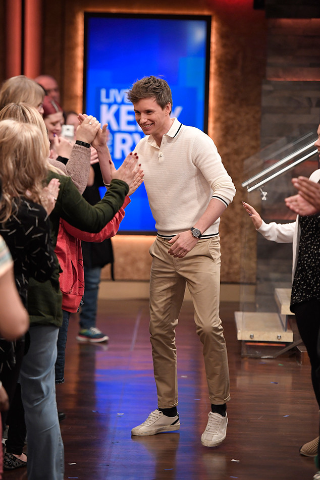 Eddie Redmayne, Live With Kelly and Ryan